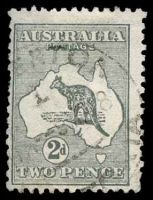 Lot 936:2d Grey Die I BW #7 Cat $15.