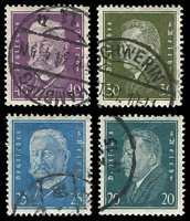 Lot 3775 [2 of 4]:1928-30 Presidents Mi #410-22 set of 13, Cat €34.