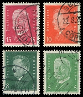 Lot 3775 [3 of 4]:1928-30 Presidents Mi #410-22 set of 13, Cat €34.