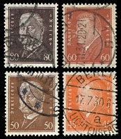 Lot 3775 [1 of 4]:1928-30 Presidents Mi #410-22 set of 13, Cat €34.