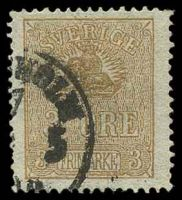 Lot 4411:1862-63 Lion and Arms SG #12c 3ö brown, Type II, Cat £16.
