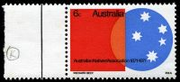 Lot 3070:1971 Australian Natives Association retouched 'K' of 'BECK' in imprint [R2/1], BW #555h couple of very light tone spots.