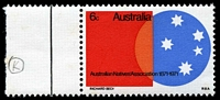 Lot 3307:1971 Australian Natives Association retouched 'K' of 'BECK' in imprint [R2/1], BW #555h couple of very light tone spots.