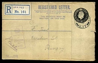 Lot 22813:Army Post Office double-circle 'ARMY POST OFFICE/B/26FE
