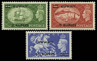 Lot 24183 [2 of 2]:1950-54 Great Britain KGVI Overprinted SG #84-92 set of 9, Cat £90.
