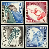 Lot 24907 [1 of 2]:1953 Helsinki Olympics set of 6, Mi #458-63.