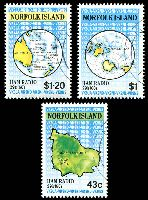 Lot 4027:1991 Ham Radio SG #509-11 set of 3, cto.