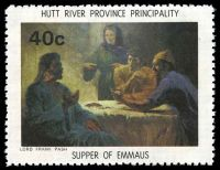 Lot 38 [3 of 4]:Australia - Hutt River Province: 1975 Chapel Paintings, set of 4