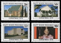 Lot 44:Australia - Hutt River Province: 1979 Christmas, set of 4.