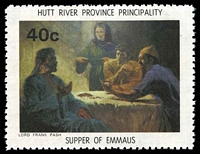 Lot 40 [3 of 4]:Australia - Hutt River Province: 1975 Chapel Paintings, set of 4