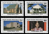 Lot 42:Australia - Hutt River Province: 1979 Christmas, set of 4.