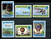 Lot 24873:1982 Manned Flight Sc #522-7 set of 6, CTO.