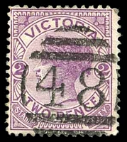Lot 11200:48: right half 3rd duplex on 2d violet.  Allocated to Hawthorn-PO 1/1/1854; replaced by Hawthorn Business Centre BC 24/10/1997.