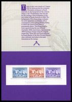 Lot 47:Australia - Replica Card: South Australia Centenary 1936, Card No. 6
