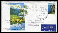 Lot 4292:APO 1976 Australian Scenes 50c Mount Buffalo on illustrated FDC, cancelled with Canberra City FDoI of 25AUG1976, to Ede, Netherlands by air, neat typed address.