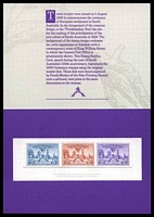Lot 35:Australia - Replica Card: South Australia Centenary 1936, Card No. 6