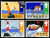 Lot 22362:1985 Safety At Sea set of 4, SG #1286-9.