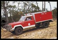 Lot 310:Australia: colour PPC of Type 1.4 CFA Prototype Fire Truck.