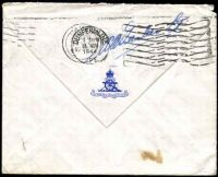 Lot 3594 [2 of 3]:1944 use of GB 2½d blue KGVI, cancelled with 'CANADIAN OVERSEAS/14NOV/1944/S.C.2./P.D.' (A1) machine, to R.N.A.S. Edinburgh, redirected to Ayr & finally to Stockport.