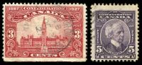 Lot 3591 [2 of 3]:1927 60th Anniv of Confederation - Commemorative Issue SG #266-70 set of 5, Cat £14.