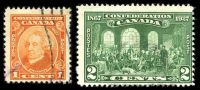 Lot 3591 [1 of 3]:1927 60th Anniv of Confederation - Commemorative Issue SG #266-70 set of 5, Cat £14.