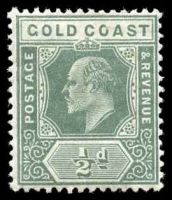 Lot 20439:1907-13 Multi Crown/CA Wmk SG #59 ½d dull green.