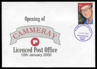 Lot 1004:Cammeray: '* LICENSED POST OFFICE */10JAN2000/CAMMERAY/N.S.W./2062' (opening day) on Alexander opening cover.  PO 2/11/1914.