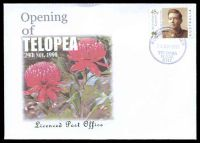 Lot 1097:Westgate: '* LICENSED POST OFFICE */21JUL1997/WESTGATE/N.S.W./2048' (opening day) on 45c on Alexander First Day Cover, unaddressed.  Renamed from South Annandale PO 1/5/1937.