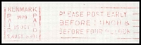 Lot 1839 [1 of 2]:Renmark: - 'RENMARK/PAID/1979/15OCT/PAID/S.AUST 5341' machine in red on Murray Pioneer Newspaper window envelope.  PO 30/6/1888.