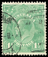 Lot 1266:1½d Green Die I - BW #88(11)jb [11R4] Retouched NW corner - State III, Cat $30. Seems to be harder than the catalogue value suggests.