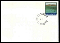 Lot 7815:Ti Tree: - 'TI TREE/28JE85/NT-5751' closing day on 43c Kakadu PSE, unaddressed.  Replaced Tea Tree Well PO 3/12/1981; closed 28/6/1985.