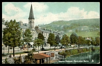 Lot 512 [1 of 2]:Great Britain: Raphael Tuck & Sons tinted colour PPC of South Parade. Matlock Bath, used in NSW 1906.