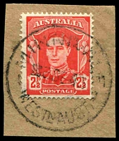 Lot 16660:Minnivale: - 'MINNIVALE/■2SE43/WESTN AUST' on 2½d red KGVI.  RO 11/12/1911; PO 1/1/1913; closed 30/6/1980.