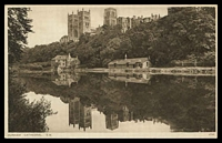 Lot 524:Great Britain: black & white PPC 'Durham Cathedral, South Wales', unused.
