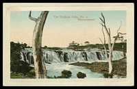 Lot 17073:Warrnambool: - multi-coloured PPC 'The Hopkins Falls, No. 2, Warrnambool', a Jordan Series card, unused.  PO 1/1/1849.