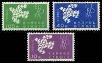 Lot 17972:1972 Europa Doves SG #206-8 set of 3.