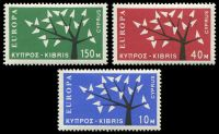 Lot 17982:1963 Europa Tree SG #224-6 set of 3, Cat £25.