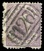 Lot 10469:126: type 1B on 2d Bell (faults).  Allocated to Kangaroo Flat-PO 2/2/1857; LPO 26/2/1994.