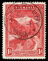Lot 10312:Apsley: - framed 'APSLEY/SP7/01/TASMANIA' on 1d Pictorial.  PO 1/9/1890; closed 14/11/1969.