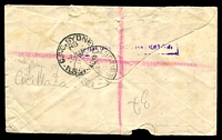 Lot 866 [2 of 2]:1943 'PAID SYDNEY/3D-7JY43/REGISTERED
