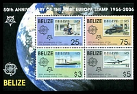 Lot 16979:2006 50th Anniv. Europa Stamp SG #1336 M/sheet, Cat £12.