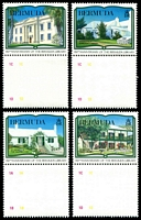 Lot 3759:1989 150th Anniv. of Bermuda Library SG #599-602 set of 4.