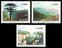 Lot 3615:1985 National Park SG #2189-91 set of 3.