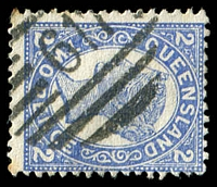 Lot 1557:617: '617' on 2d 4-Corners. [Rated 2R]  Allocated to Mudgeeraba-RO c.1878; PO c.1902; closed c.1913.