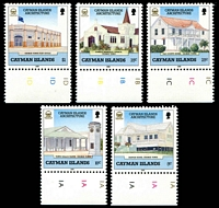 Lot 3452:1989 Architecture SG #686-90 set of 5.