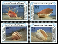 Lot 3358 [1 of 2]:1985 Sea Shells SG #566-70 set of 5, Cat £14.25.