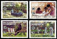 Lot 3520:1985 International Youth Year SG #953-6 set of 4, Cat £14.75.