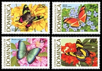 Lot 3678 [2 of 2]:1989 Butterflies SG #1255-62 set of 8, Cat £10.75.