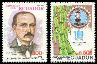 Lot 21270:1985 Valdez Sugar Refinery Centenary SG #1936-7 50s & 100s.
