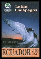Lot 3427:2005 Galapagos Islands SG #2759 $2 Imperf. M/sheet, Cat £11.50.
